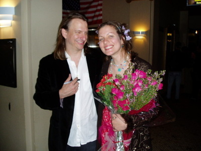 antje and ellis after the show