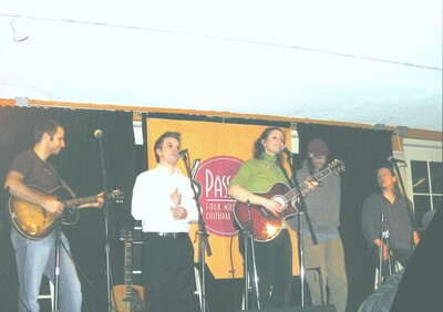 antje at passim with jake armerding chris o039brien sean staples and ellis paul